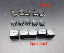 15pcs מיקרו מתג לאאודי J518 מנעול הצתה מתג A6L Q7 הגה נעילת ECU לוח 3 ישר רגליים ACT512 רכב ממסר