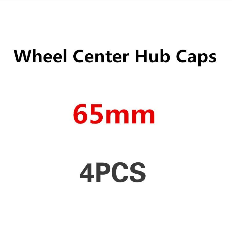 4pcs 65mm Car Wheel Center Hub Cap Badge Logo Covers For VW Golf 4 5 6 7 Jetta MK5 MK6 MK7 Tiguan Passat B6 B7 CC Sharan Phaeton