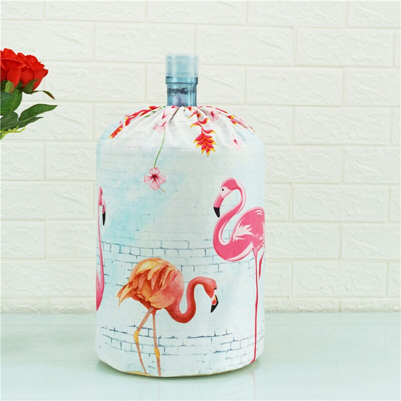 Cloth Art Drinking Fountains Barrels Water Dispenser Dust Cover Cartoon Animal Household  Protector Cover