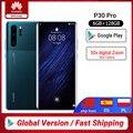 Huawei P30 Pro смартфон с 50x цифровым зумом  6 ГБ  8 ГБ  256 ГБ  четырёхъядерный  6 47 дюйма  OLED Kirin 980 NFC