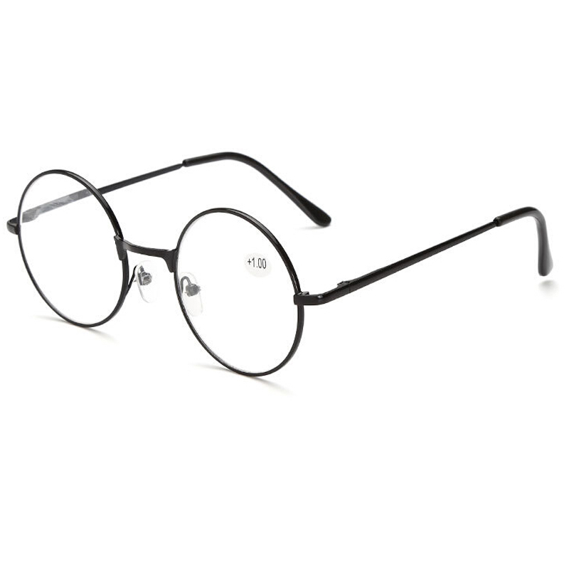 MOLNIYA Retro Round Reading Glasses Women Men Metal Presbyopic Glasses Myopic Lens Eyewear +1.0+1.5+2.0+2.5 +3.0 +3.5 +4.0 Eye Sight Glasses Goggles Home, Pets and Appliances 7fbb8c2a551aaaea0fd30c: +100|+150|+200|+250|+300|+350|+400