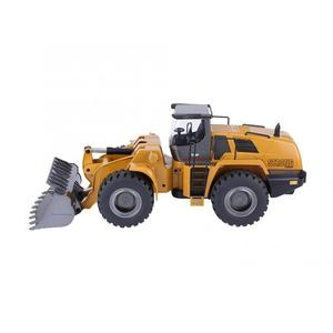 Image 5 - Huina 583 10CH RC Excavator Car 2.4G 1:14 RC Truck Remote Control Metal Arm Excavator Engineering Vehicle kids Toy Gift