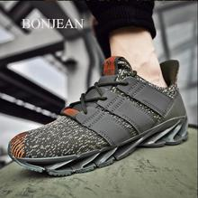 2019  Autumn Vintage Sneakers Men Breathable Casual Shoes Comfortable Fashion