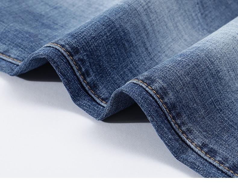 KSTUN Fashion Biker Jeans Men New Design Ultrathin destroyed Man Rip Jean Slim Fit Hiphop Stretch Blue Casual Denim Pants High Quality 18