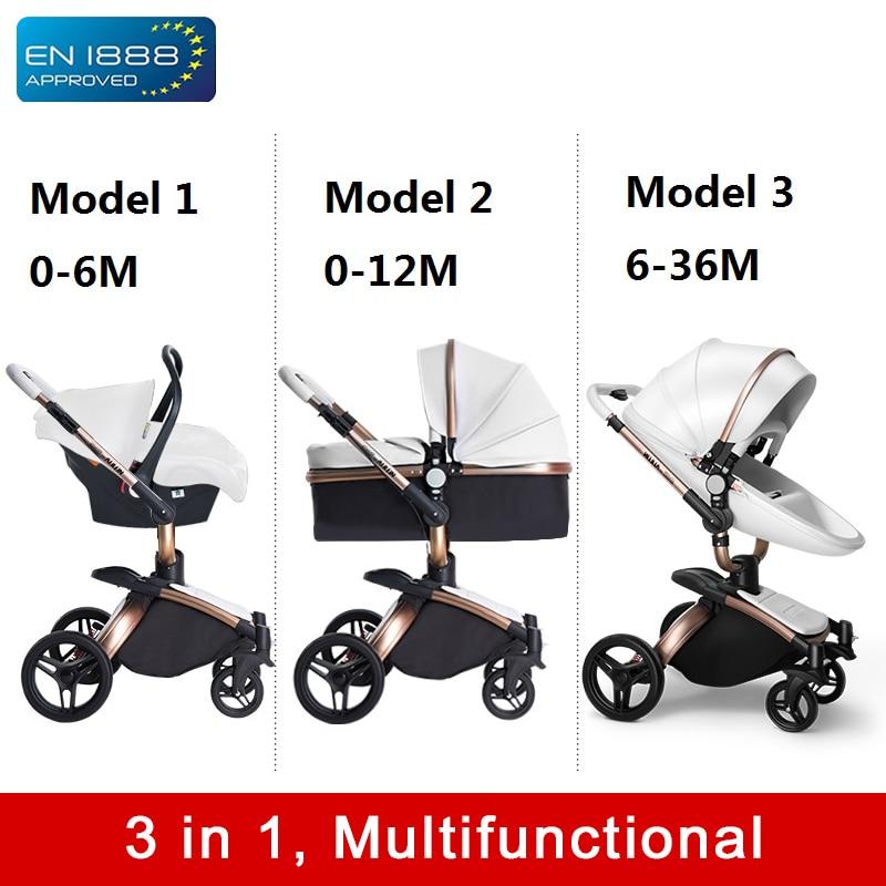 Baby Stroller 3 In 1 Light Folding Push Cart Portable Yoya Trolley Umbrella Travel Pushchair Buggy Jogger On A Trolley For Kids