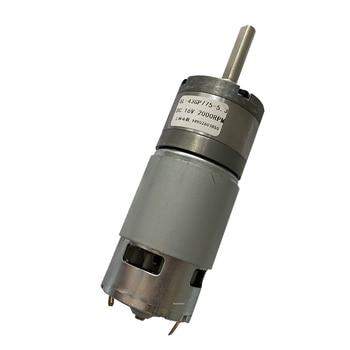 43 мм, Новый планетарный редуктор 43GP-775, двигатель постоянного тока 12 В, 1500 об/мин, модель «сделай сам», мотор для колесного привода 1: