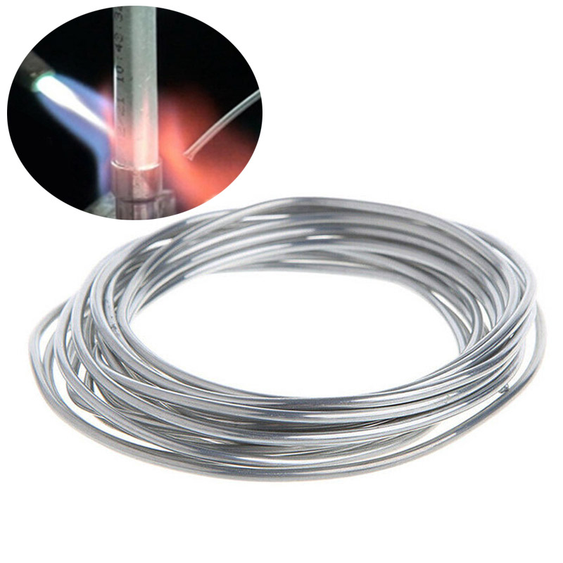 Easy Melt Aluminum Copper Welding Rod Cored Wire Low Temperature Welding Rods For Copper Aluminum Steel Soldering No Need Powder
