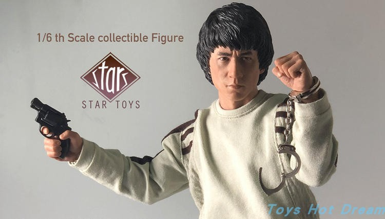 Full set STT-001 In Stock 1/6 Scale Jackie Chan's Police Force Action Figure Doll Model Toys for Fans collection Gifts 1