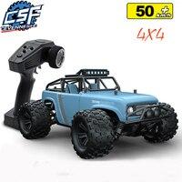 Cglitnesfe 2021 nuovo 1:18 professione su larga scala 4WD arrampicata Rc auto 50 KM/H 2.4G telecomando ad alta velocità fuoristrada Rc giocattoli per auto