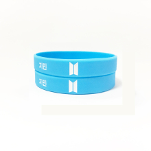 BT21 blue JINIM Korean star 1995.10.13 silicone bracelet jewelry