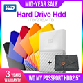 Western Digital My Passport hdd 2.5 Dispositivi di Memoria di Archiviazione USB 3.0 SATA HDD Portatile Hard Disk Esterno Disk 1TB 2TB 4TB