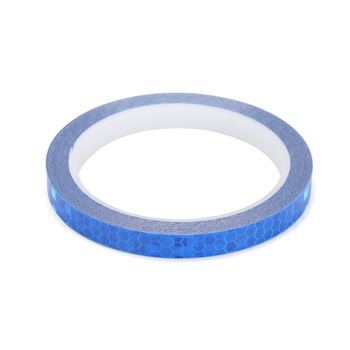 1cmx8m Bike Reflective Stickers Cycling Fluorescent Reflective Tape MTB Bicycle Adhesive Tape Safety Decor Sticker Accessories 12