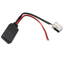 Für Peugeot 207 307 407 308 für Citroen C2 C3 RD4 Auto 12Pin Bluetooth Modul Wireless Radio Stereo AUX-IN Aux kabel Adapter(China)