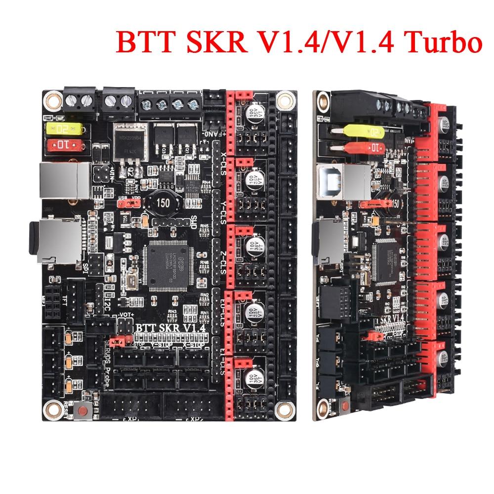 BIGTREETECH SKR V1.4 Control Board BTT SKR V1.4 Turbo 32Bit+TMC2130 TMC2208 TMC2209 Driver VS SKR V1.3 E3 DIP 3D Printer Parts