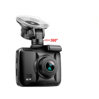 Novatek 96660 4K Super HD 2160P 2.4 inch Car DVR With Built-in GPS OV4689 Sensor Video Recorder image