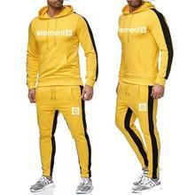 2019 new brand mens fashion sports suit hooded shirt venom printing casual cotton autumn and winter warm Sweatshirt