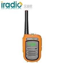 2020 جديد بالجملة إيراديو CP 168 لاسلكي تخاطب الاطفال اتجاهين راديو CE FCC جهاز مرسل ومستقبل صغير لحم الخنزير راديو PMR FRS
