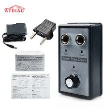 Spark Plug Tester Ignition Testers Automotive Ferramenta de Diagnóstico do carro Duplo Hole Analyzer para 12V Veículos A Gasolina Carro A Gasolina