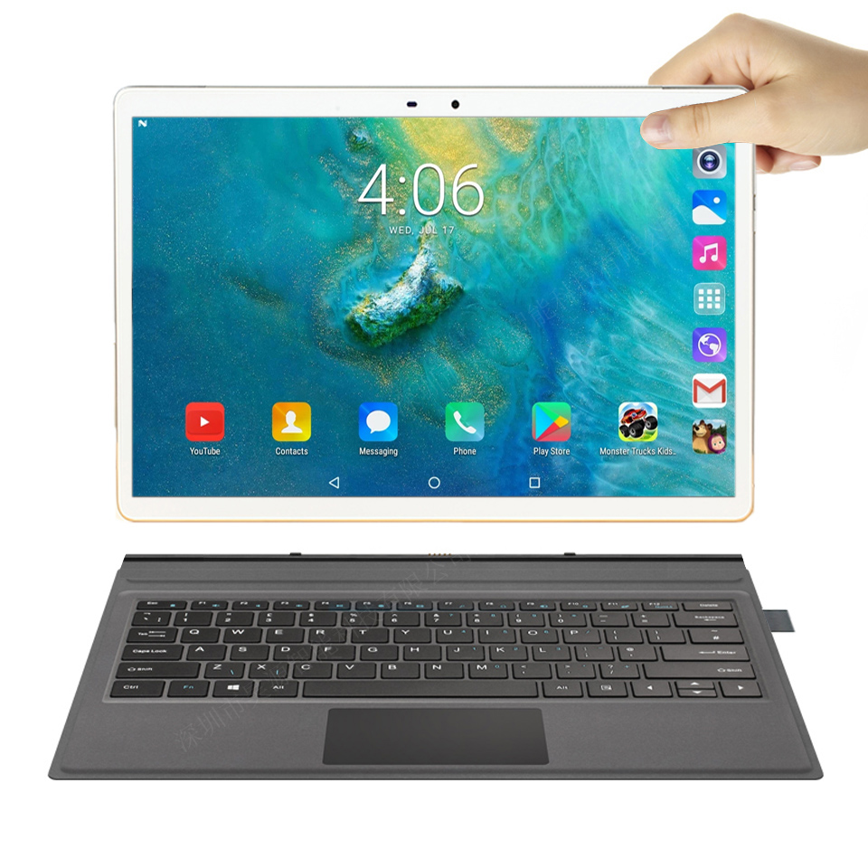 4G Tablet 11.6 Inch Notebook 2 In 1 Tablet Pc Android Laptop 10 Cores 13MP Support Wifi 4G LTE Gps Drawing Tablet With Keyboard