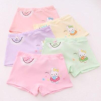VIDMID Kids girls Panties Briefs Children Underwear Baby Girls Cotton Lovely Animal Design Panties Children Clothes 7130 01 2