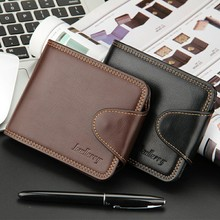 Men Leather Wallet Business Casual Men's Wallets