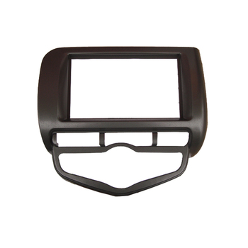 Double Din Audio Fascia for HONDA Jazz Auto Air Condition LHD or RHD Radio GPS DVD Stereo Panel Dash Installation Trim Kit Frame image