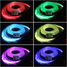 Fiber Optic Light Car Home Color Star Top Light Illuminator Decor Projection Lamp for Xmas Wedding Fairy Beautiful Light