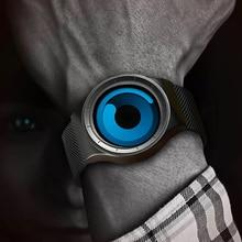 למעלה Creative איש ספורט מקרית שעונים גברים של יוניסקס קוורץ עמיד למים שעון זכר שעון יד אנלוגי מתנת אופנה יפן