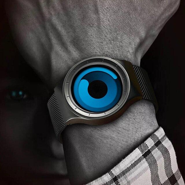 Top Creative Man Sport Casual Watches Mens Unisex Quartz Waterproof Clock Male Wrist Watch Analog Gift Fashion Japan