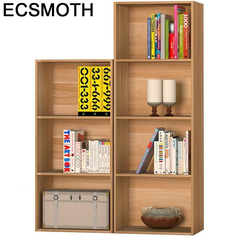 Industrial Bureau Meuble Rangement Libreria Home Decor Cabinet Shabby Chic Wodden Furniture Decoration Retro Book Shelf Case