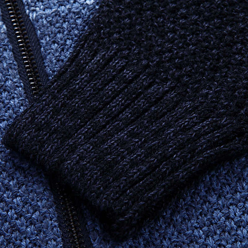 Men sweater cardigan zipper 2020 new arrival autumn and winter casual male long-sleeve knitted coat Korean style hot sale M43