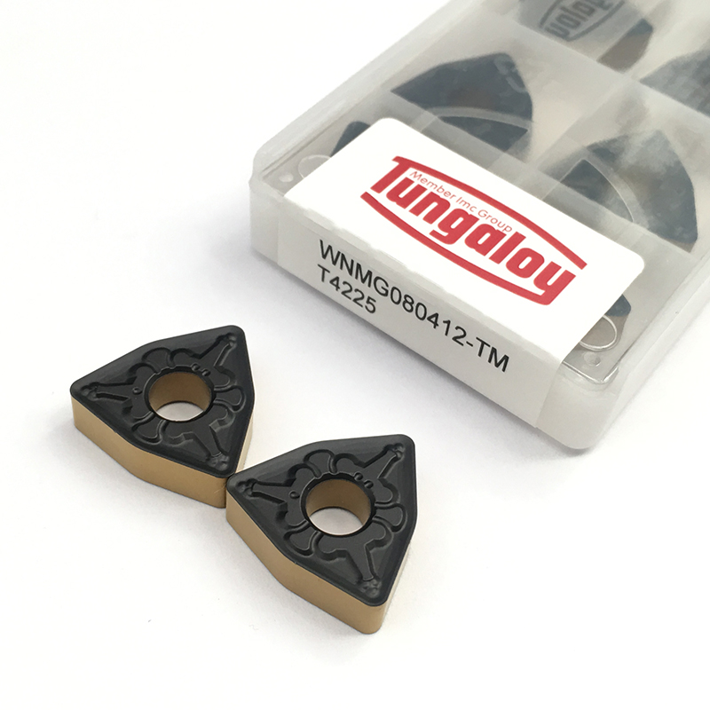 100% Original WNMG080412 TM T4225 Sale Machine Tool Accessories Turning Tool Carbide Inserts For Stainless Steel