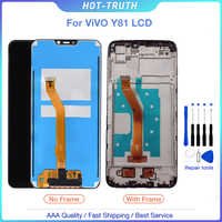 6,22 LCD para BBK Vivo Y81 pantalla LCD MONTAJE DE digitalizador con pantalla táctil reemplazo parte envío gratis