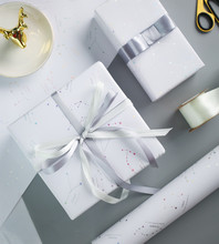 54*78cm Constellation Gift Wrapping Paper Hot Silver Ins Flowers Wrapped Box Diy Soft Coated