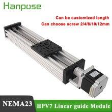 Шаговый двигатель NEMA23 2,8a HPV7 Openbuilds C Beam, линейный привод, Z ось, t8, шаг свинца 2 мм или Reprap 3D принтер