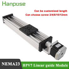 NEMA23 stepper motor 2.8A  HPV7 Openbuilds C Beam Linear Actuator Z axis t8 lead screw Pitch 2MM or Reprap 3D Printer