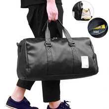 Travel Bag Carry on Luggage Duffel Bags Large PU Leather Tote Belt Weekend Crossbody Bag Overnight Solid sac de voyage XA88WC