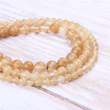Wholesale Golden Watermelon Natural Stone Beads Round Beads Loose Beads For Making Diy Bracelet Necklace 4/6/8/10/12MM