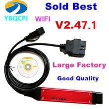 Grande qualidade de cabo a + vci3 v2.47.1 sdp3 vci3 varredor para vci sem fio VCI-3 caminhão diagnóstico software wifi 2.31 em vez vci2