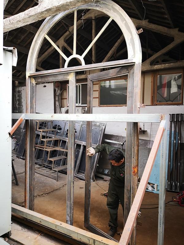Shanghai Hench Brand China Factory 100% Custom Made Sale Australia Cast Iron Front Door