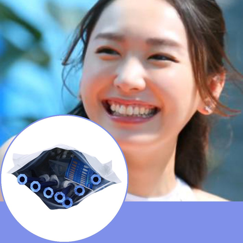 Sbiancamento dei denti 44% peça quantidade de estoque kit gel orale sbiancante para denti nuova attrezzatura 10 pezzi