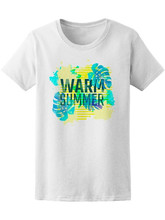 Watercolor Warm Summer Women'S Tee -Image By New Unisex Funny Tops Tee Shirt(China)