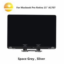 새로운 애플 맥북 프로 15.4 a1707 LCD 화면 2016 2017 전체 어셈블리 MLH52 MLW72 A1707 디스플레이