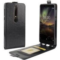 Custodia Flip verticale in pelle PU per Nokia 2 2.1 2.2 2.3 3.2 4.2 6 7 8 9 8.3 custodia a portafoglio per Nokia 5.1 6.1 Plus C1 C3 Coque