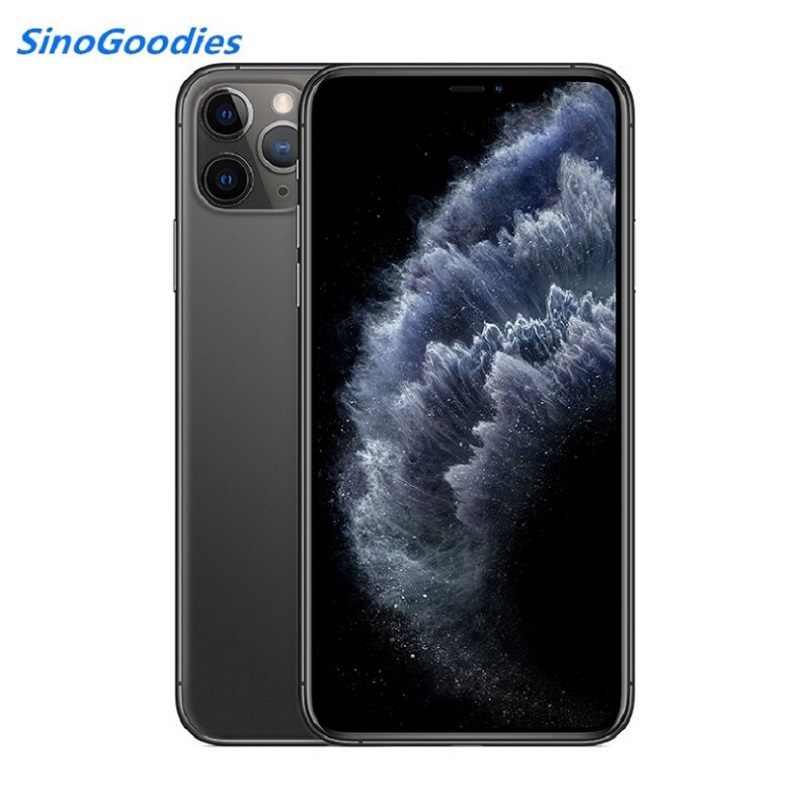 חדש סיני גרסה כפול כרטיס ה-sim iPhone 11 פרו מקסימום 6.5 אינץ OLED תצוגת 4G LTE משולש מצלמה smartPhone 64/256/512gb ROM A13