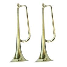 2x изысканный браслет для школы, труба марширующая горлышко, латунный инструмент