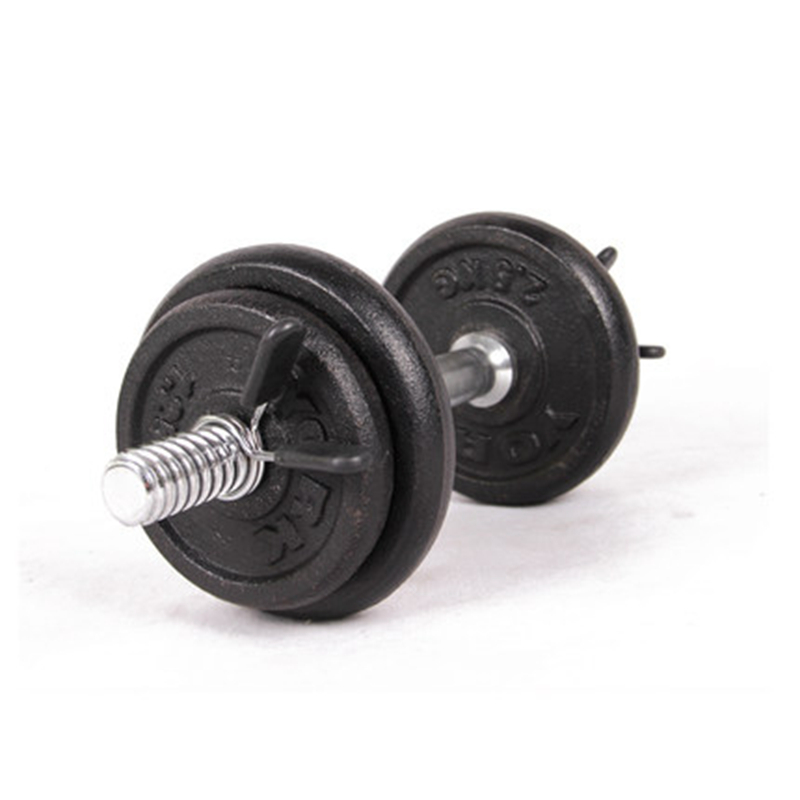 Galleria fotografica 2Pcs 30mm Barbell Lock Barbell Bar Gym Clamp Clips Dumbbell Collar Lifting Spring Lock Weight
