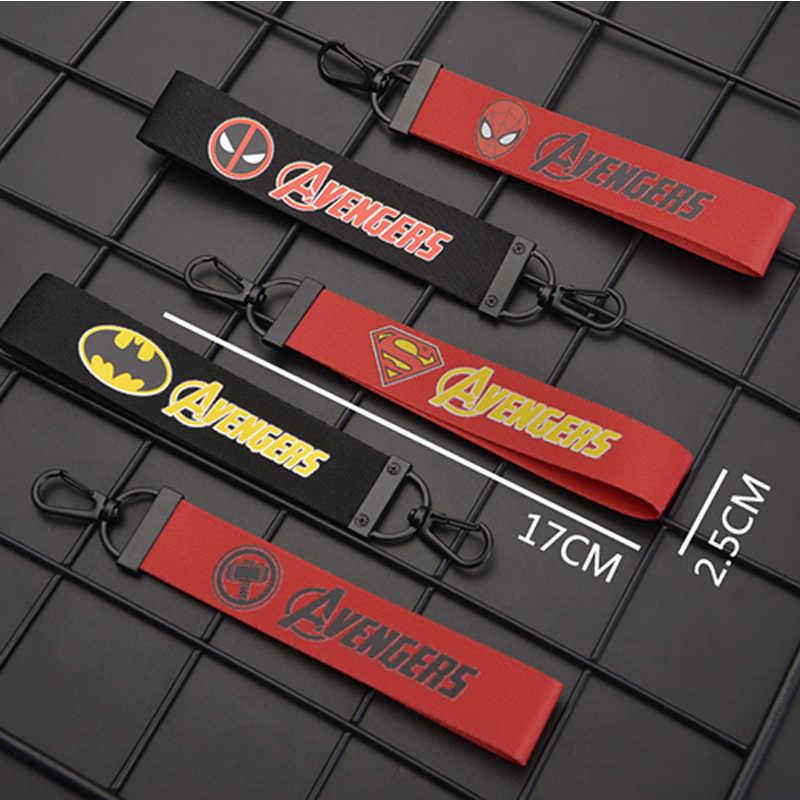 سلسلة مفاتيح مطرزة لسائقي الدراجات النارية لسيارات إنفينيتي بويك بيجو 307 206 407 301 3008 308 سيات ليون لكزس شيري صعب
