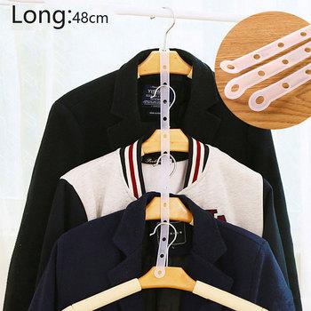 5pcs10pcs2 0 sztuk vanzlife kreatywny wieszaki artykuł link chain przejrzyste ubrania wieszak pimp artykuł plastikowy wieszak połączenie bar tanie i dobre opinie CN (pochodzenie) Nowoczesne 1-9 m