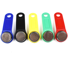 Clé de mémoire RFID tactile, 5 pièces/lot, inscriptible, iputton RW1990, clé de Sauna